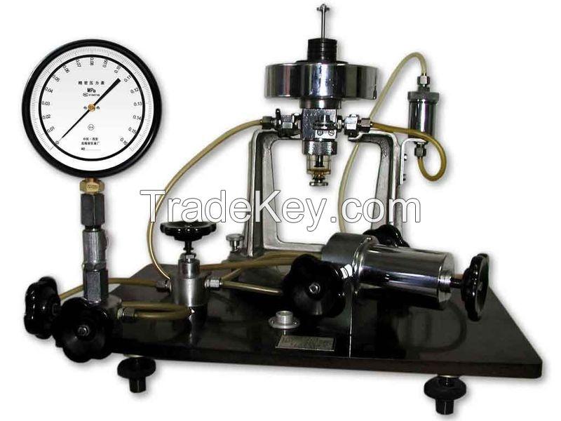 Piston type pressure gauge -0.10.25MPa