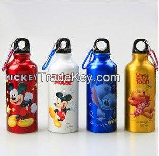 450ml aluminum sport bottle,aluminum sport water bottle With SGS,FDA