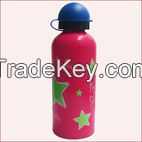 500ml aluminum bottle,aluminum water bottle (BPA FREE With SGS ,FDA)