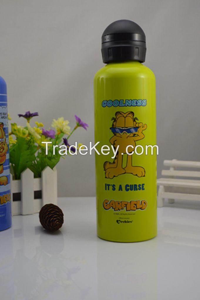 750ML aluminum drink bottle/drink water bottle With SGS,FDA