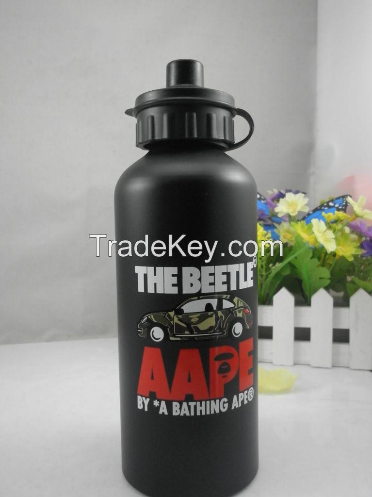 500ML aluminum sport bottle/aluminum sport water bottle With SGS,FDA