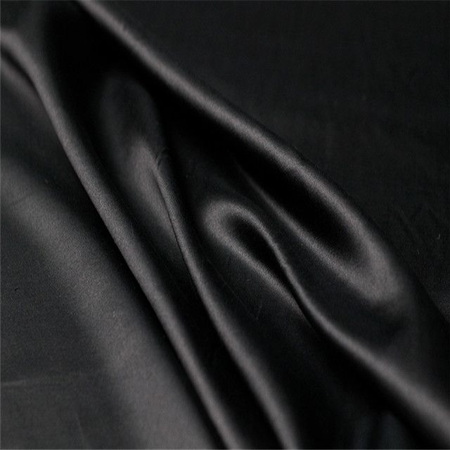 Amazon Hot Selling Mixed Silk 12m/m Silk Cotton Satin Fabric for Women Dresses