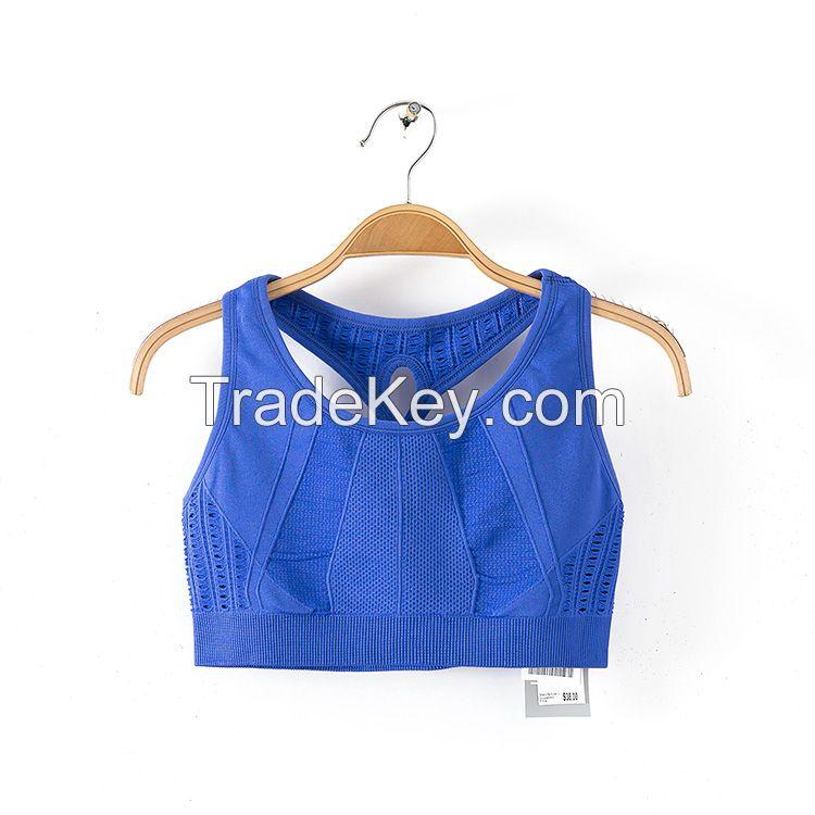 Cheap Wholesale Ladies Active Fitness Vest Tank Top Yoga Wear