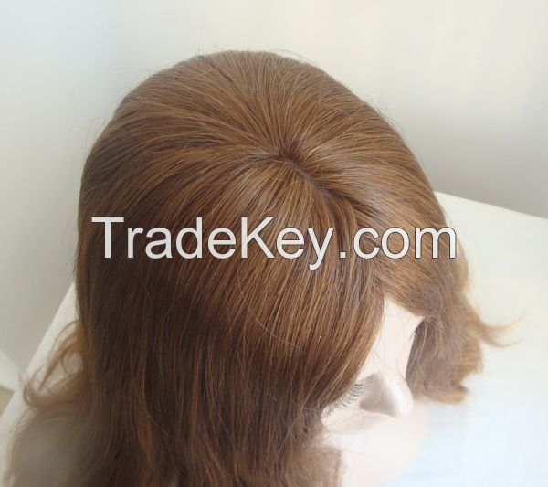 Top Quality European Hair Wigs Kosher Wigs for Wholesale