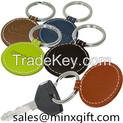 2015 promotional custom shaped metal rotating keychain