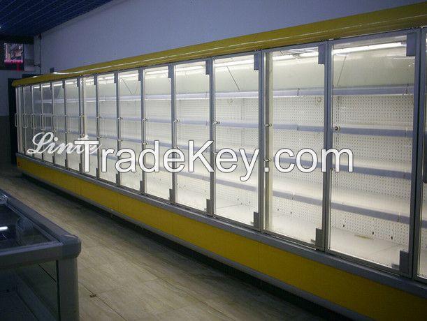 commercial refrigerator showcase /feeezer /chiiller series with glass door