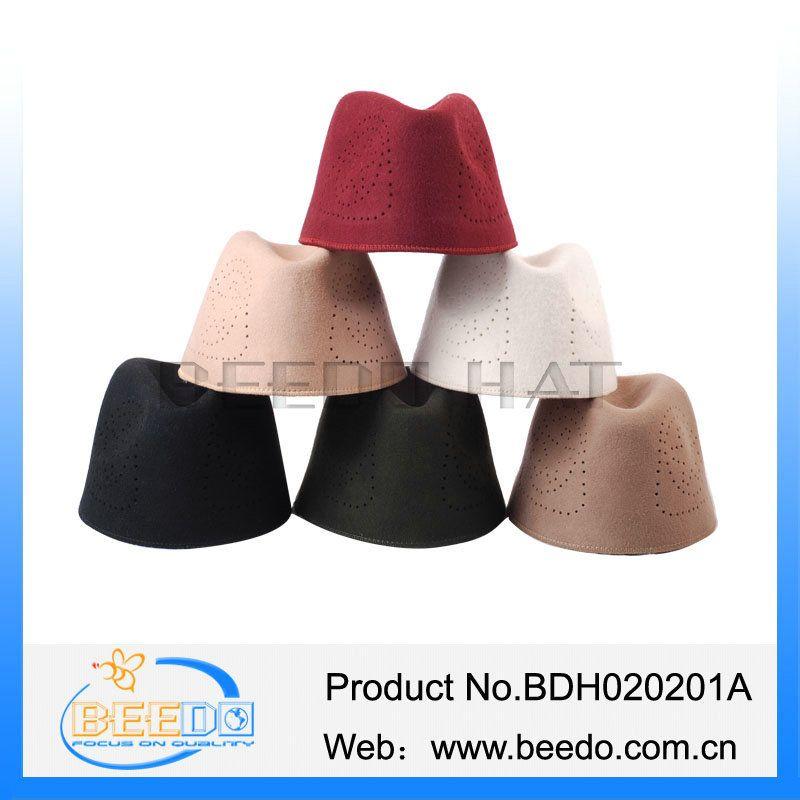 Middle east Africa trendy wool felt Embroidery muslim prayer cap hats