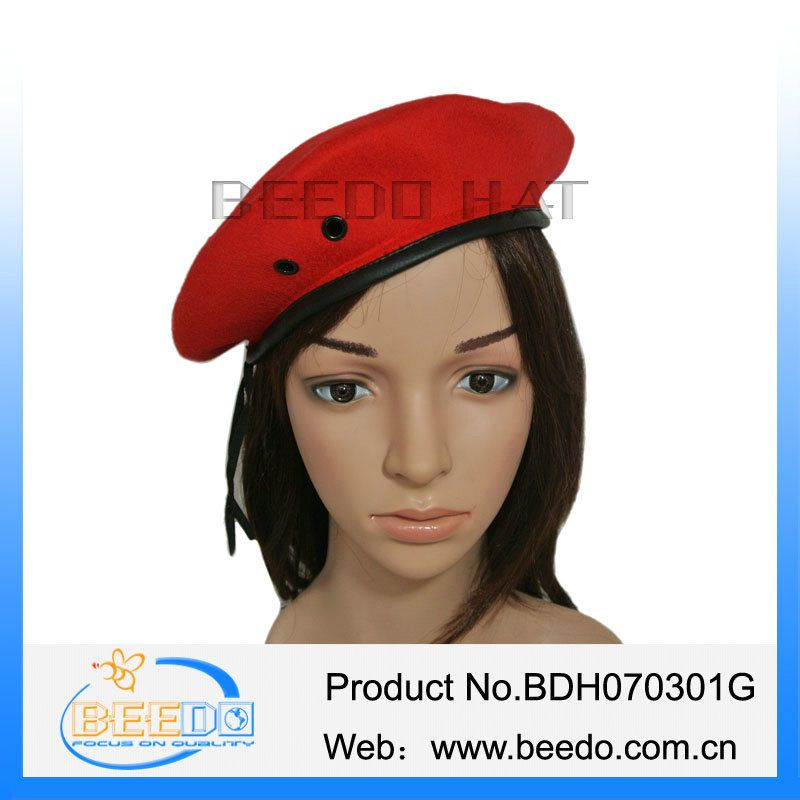 China supplier cheap beret caps army berets
