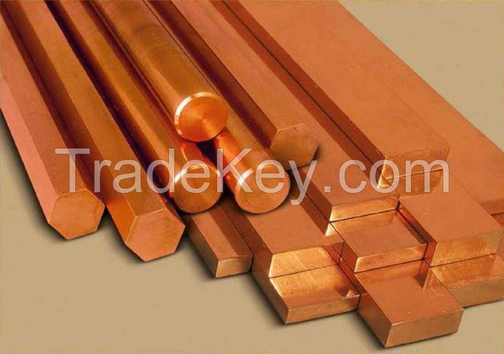 High quality 99.99% copper ingot