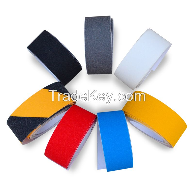 10cm*5m Black Anti Slip Tape for Hardwood Floors 60 Grit with Strong Adhesive (2inch *16.7 Feet)