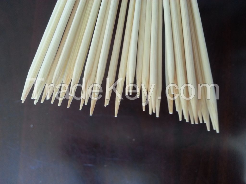 Fctory price round bamboo skewer