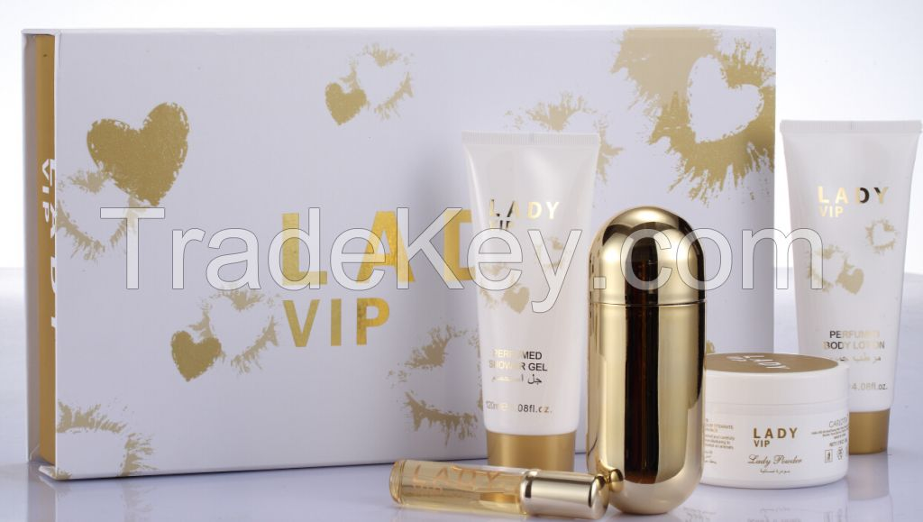 Original Brand Perfume Gift Set Lady Vip Zuofun Wholesaler By