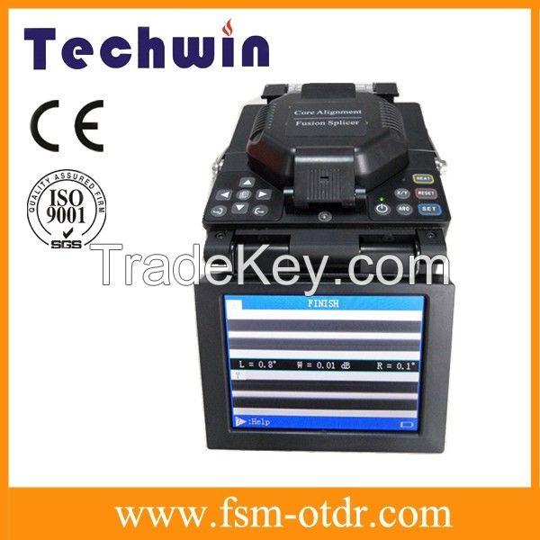 Optical Fiber Fusion Machine Used in Telecom Service Fusion SplicerTCW-605C
