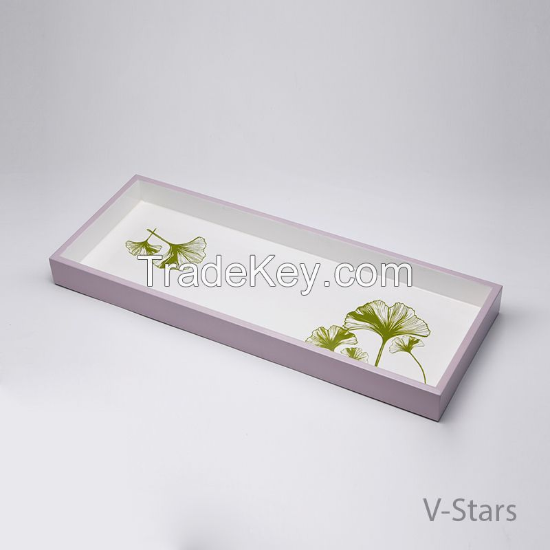Rect lacquer tray