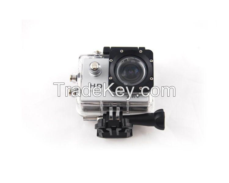 full hd 1080p waterproof sports action camera wifi