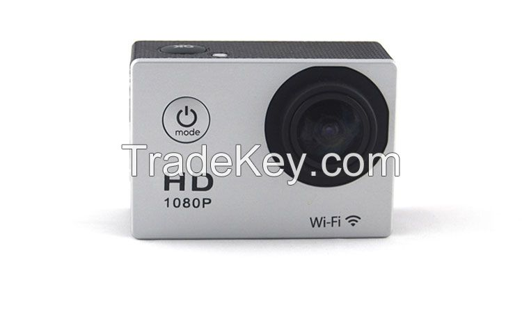 high quality 170 degree wide lens wifi FPV camcorder professional full hd