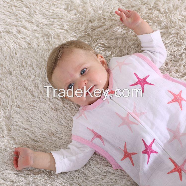 LAT pre-washed cotton muslin sleeping bag