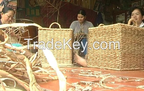 WATER HYACINTH ROPE - Raw material for handicrafts whatsapp +84947 900 124
