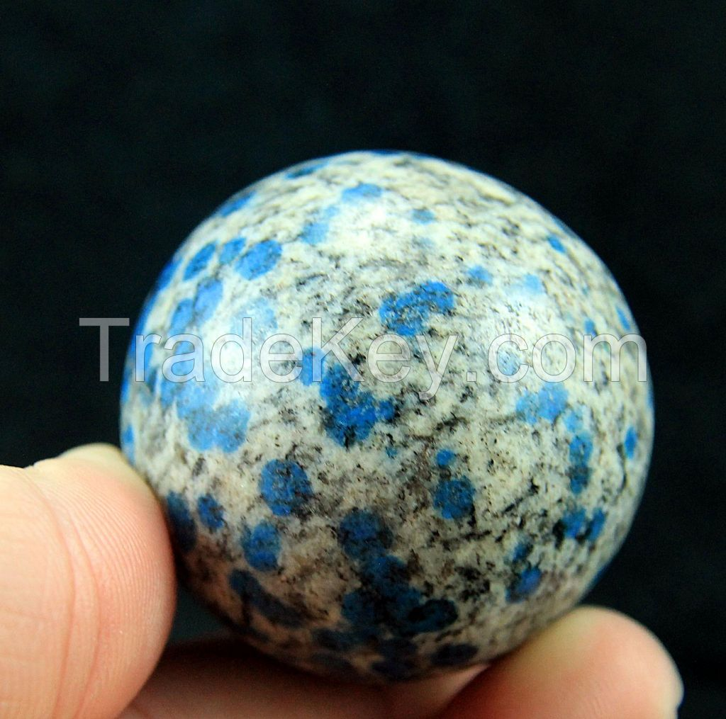 Wow 698 carats Ball of K2 nite Blue Aurite in Jasper From Pakistan