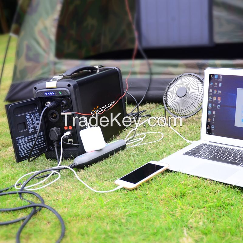 Off Grid Portable Solar System 500W with Lithium Battery