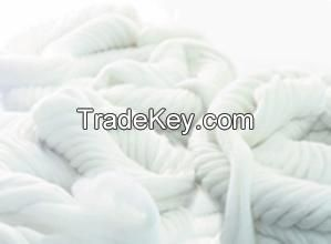 Raw White Wool