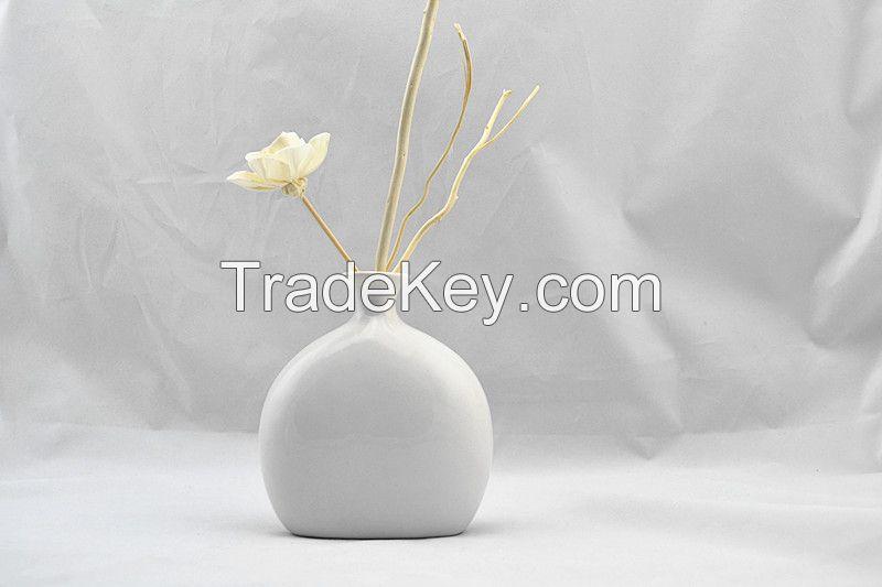 Decorative Fragrance ceramic flower diffuser