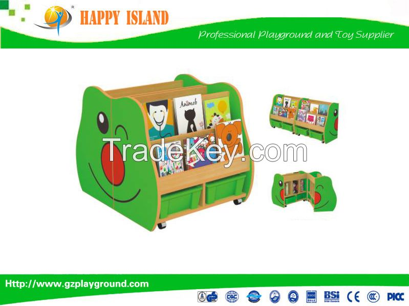New Design Fashion Kindergarten Furniture Children Cabinets Storage Cabinet