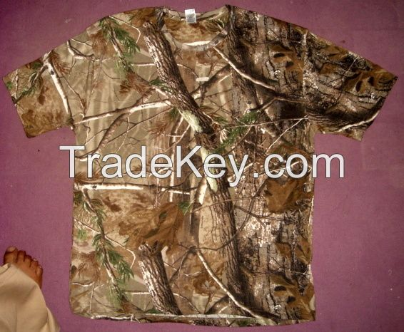 T-Shirt Jungle Printed O Neck