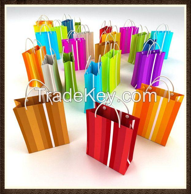 Gift Paper Bag In Packaging Bags