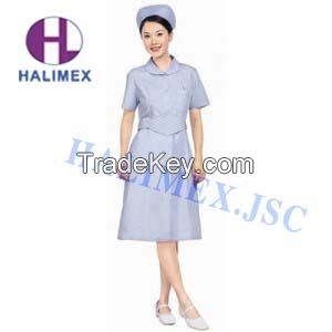 PROFESSIONAL SUMMER SHORT HOSPITAL UNIFORMS- HALIMEX