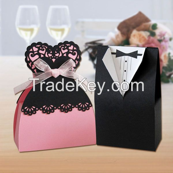 wedding gift butterfly paper candy box
