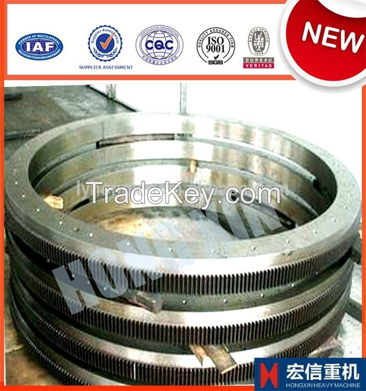 large steel spiral bevel gear with forged precision