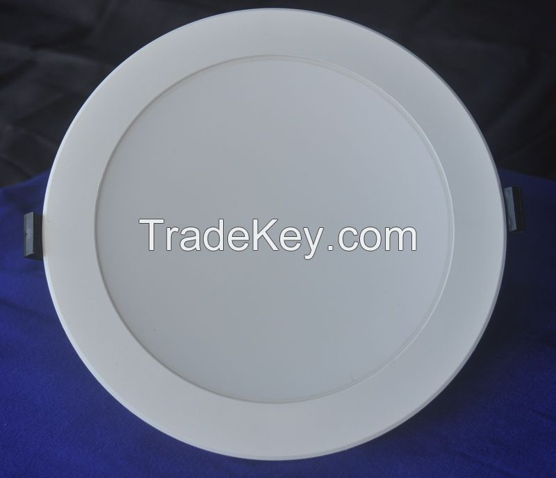 6 Inch Thermal Conductive Plastic Cover Aluminum LED Downlights