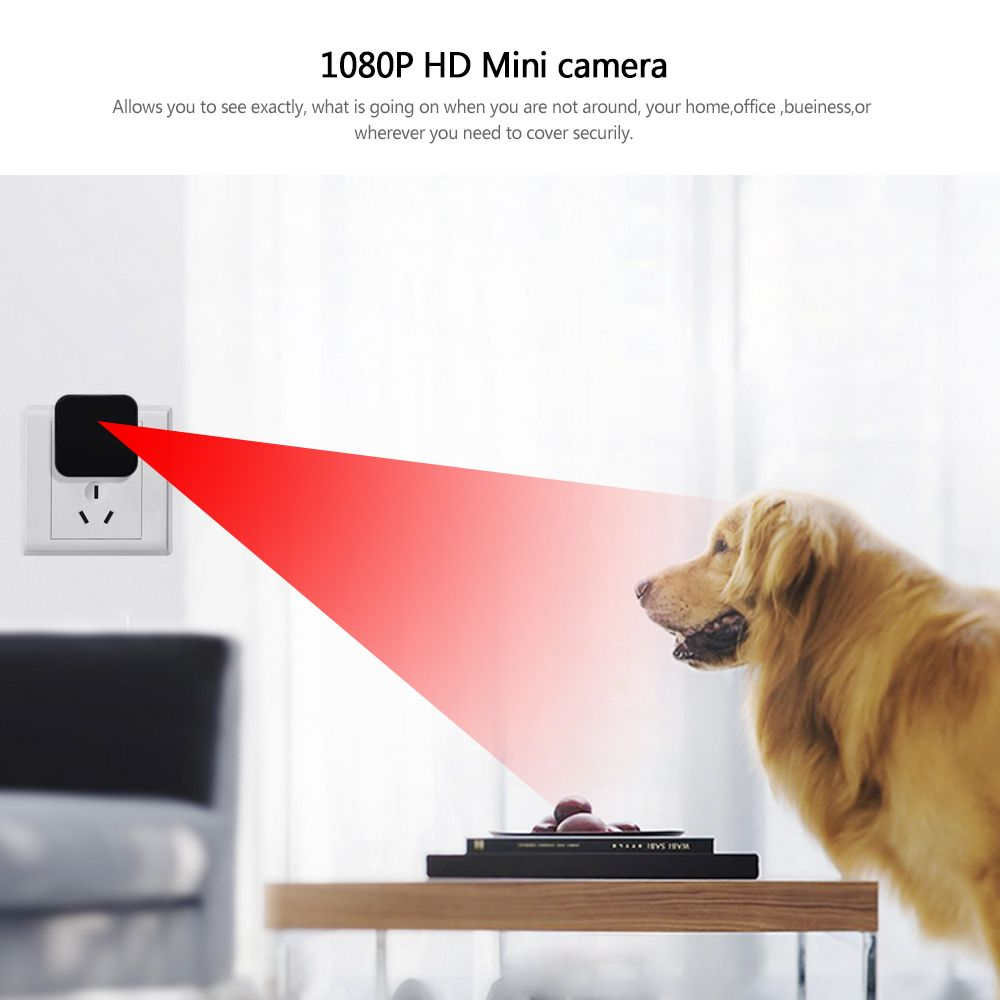 Mini Security Camera Full HD 1080P DV DC Support WiFi
