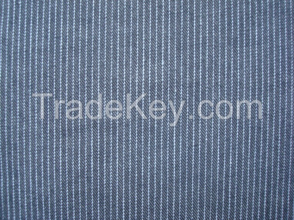 100%COTTON Y/D FABRIC WITH REGULAR FINISH