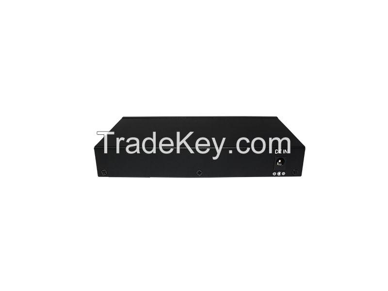 8 Port 10/100/1000M Gigabit  4 PoE+ Switch (90Watt Power)