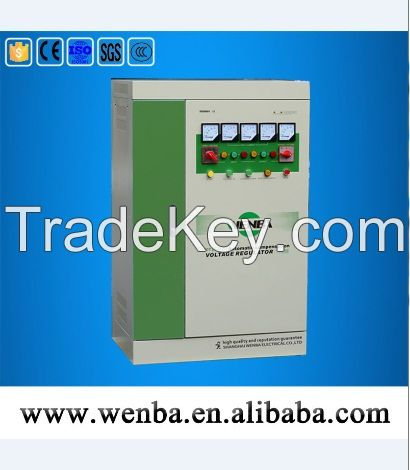 servo type 3 phase compensated electrical ac stabilizer