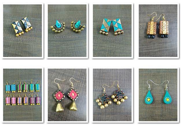 Handcraft Terracocttta jewelry manufaurer from chennai