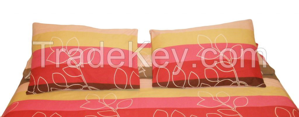 Striped Bed Sheet Set