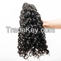 Grade 7A Virgin Remy Deep Curl Hair Extensions