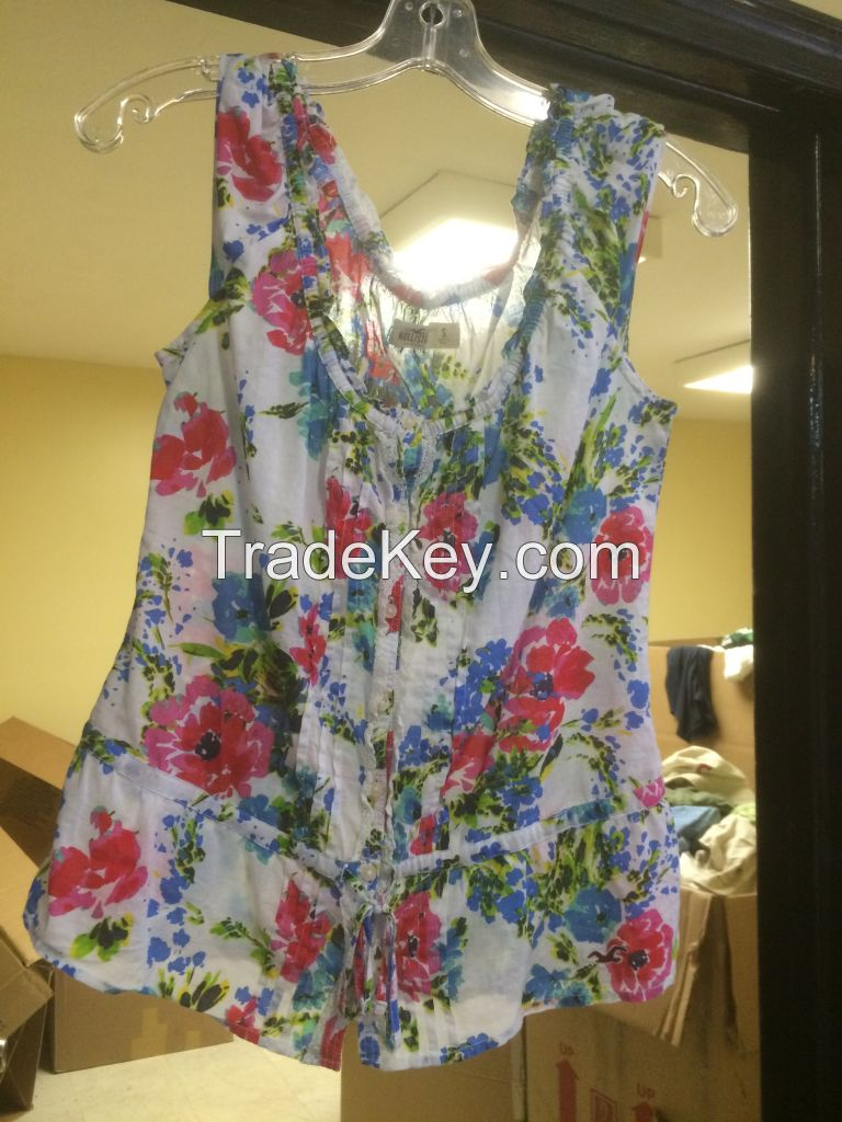Used Grade A Women's Summer Clothing