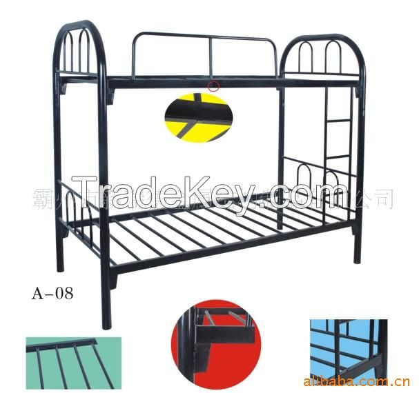 China Excellent Quality Metal Queen Size Bunk Bed For Adult