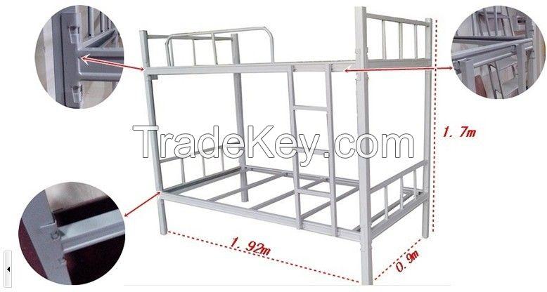 High quality KD heavy duty steel metal bunk bed