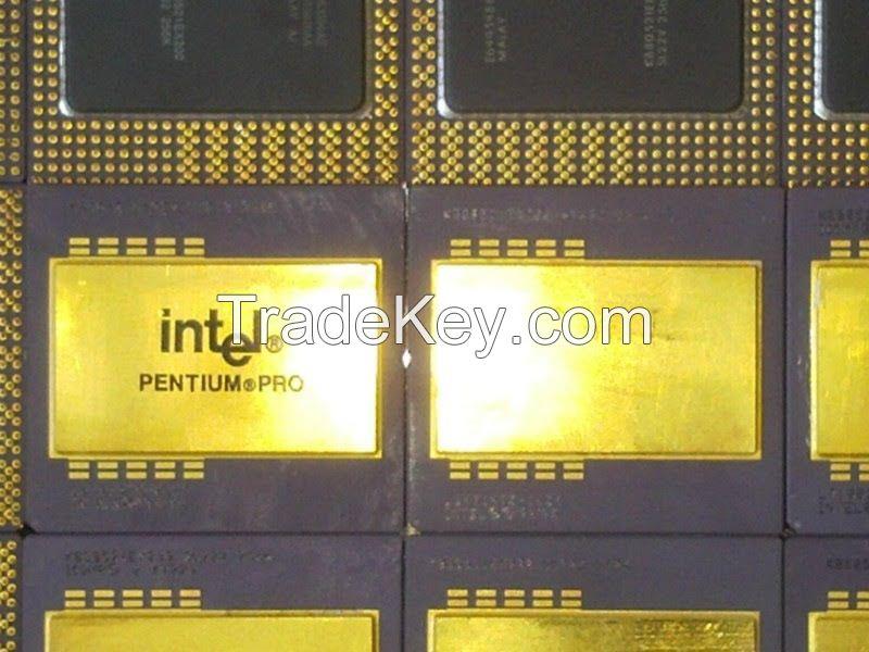 Used Pentium Pro CPU Scrap