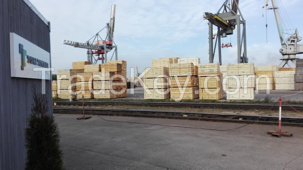 PALLET AND PACKAGING TIMBER