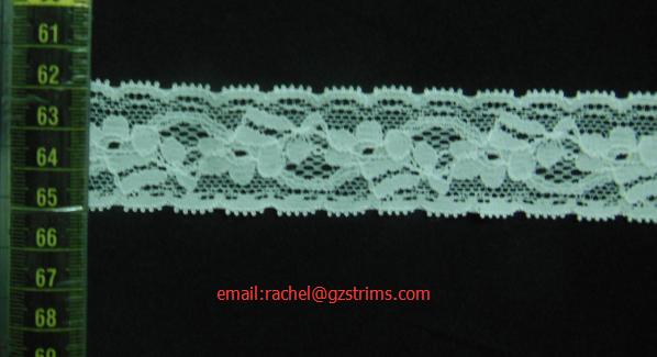 elastic lace/stretch lace/spandex lace#A2