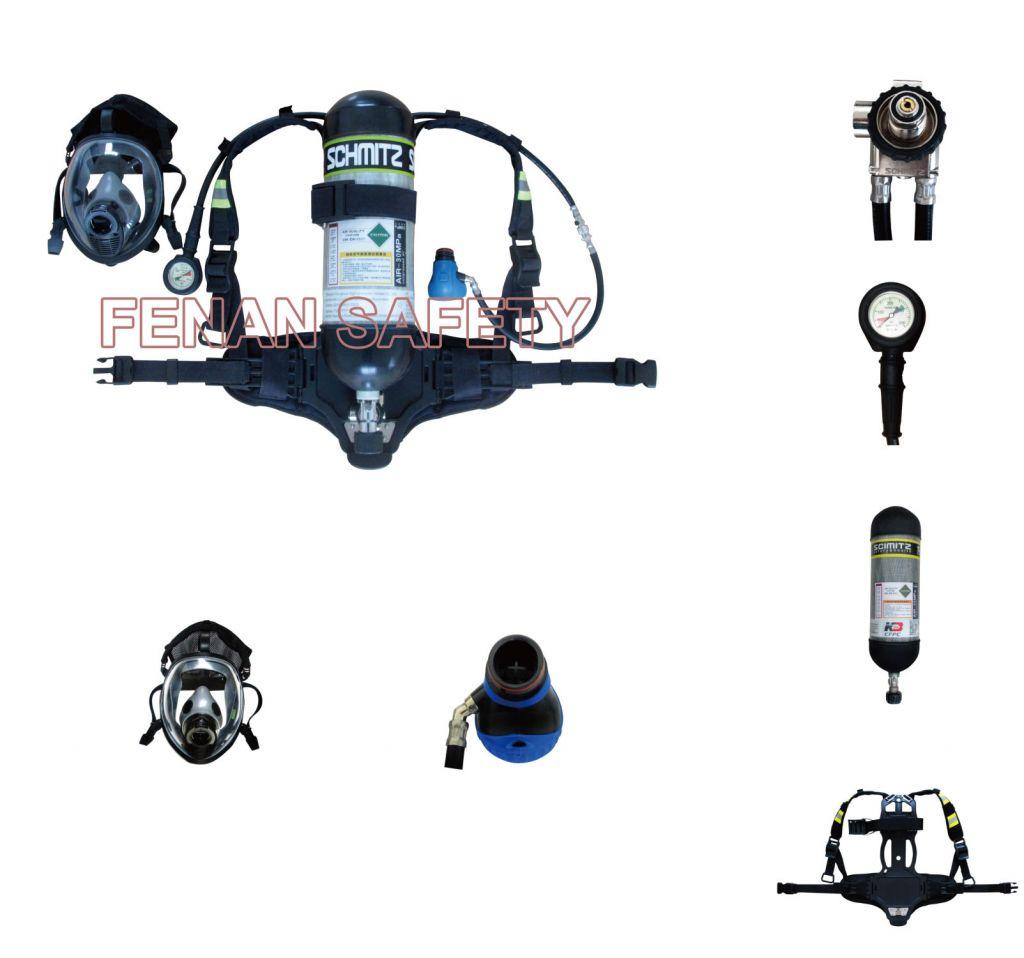 6.8L Carbon Fibre Respirator Breathing Apparatus