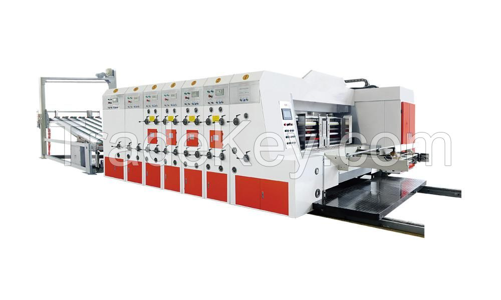 high speed flexo ink printer
