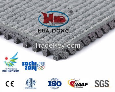 Hot sale! prefabricated synthetic rubber running track