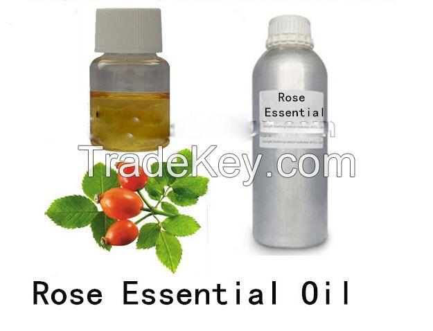 100% pure nature rose essence oil
